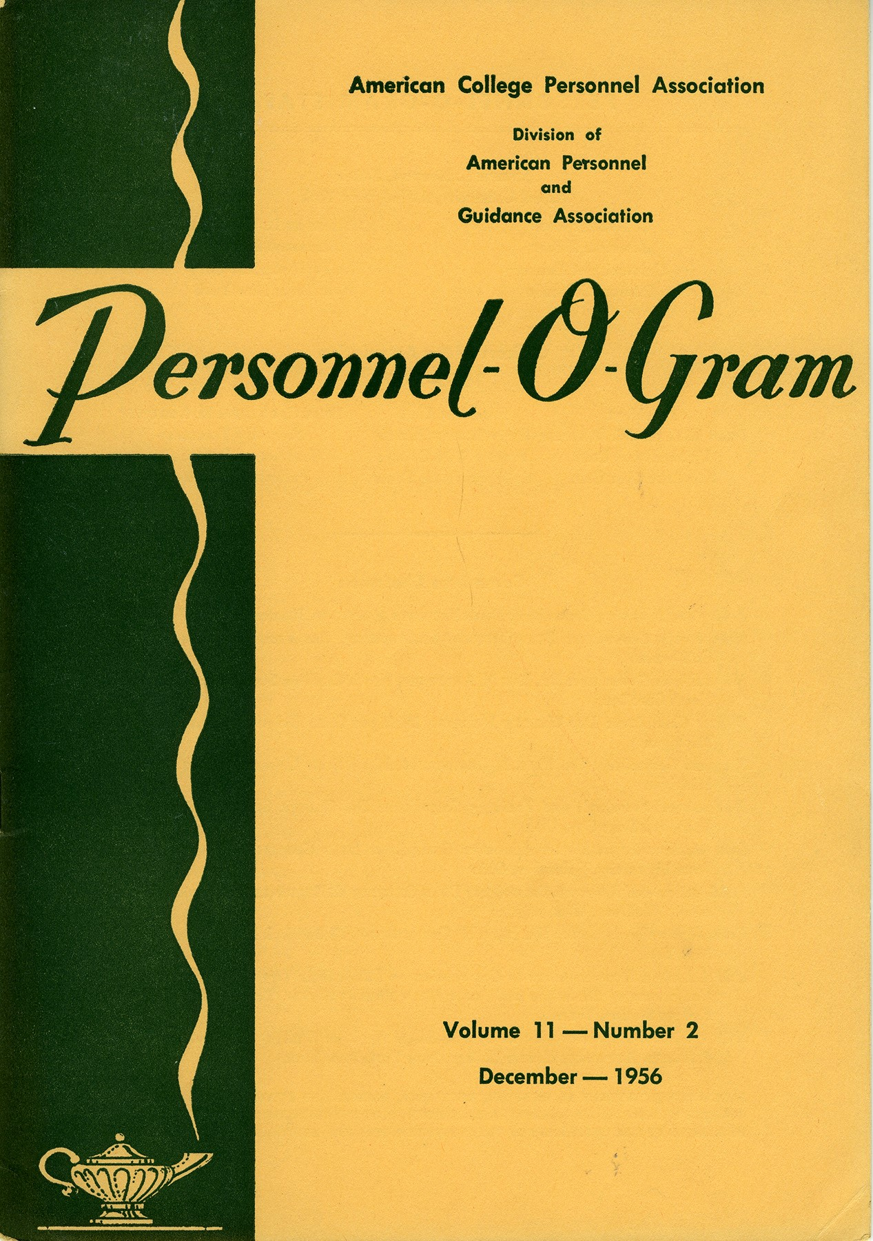 Personnel-O-Gram includes Conference Proceedings and ACPA Directory
