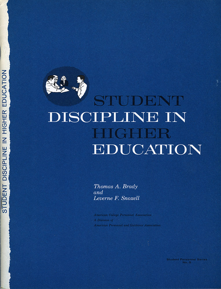Student Discipline in Higher Education