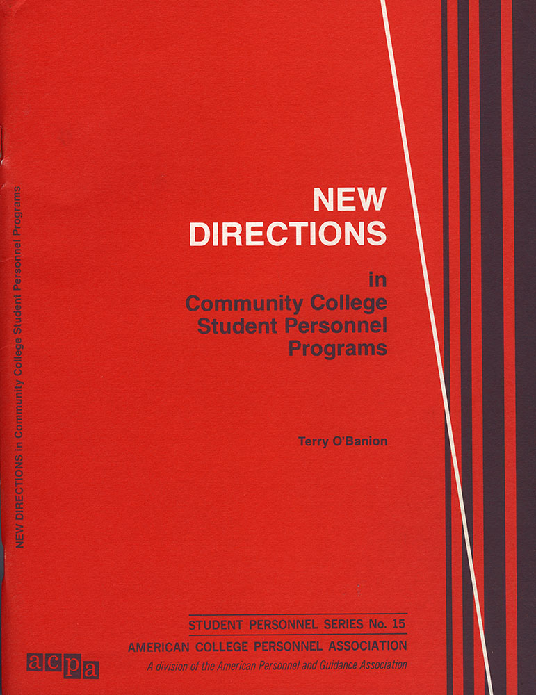 New Directions in Community College Student Personnel Programs