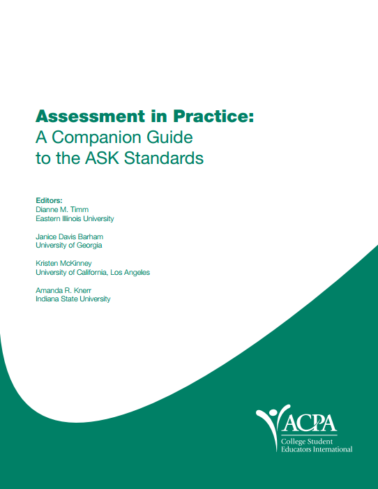 Assessment in Practice: A Companion Guide to the ASK Standards